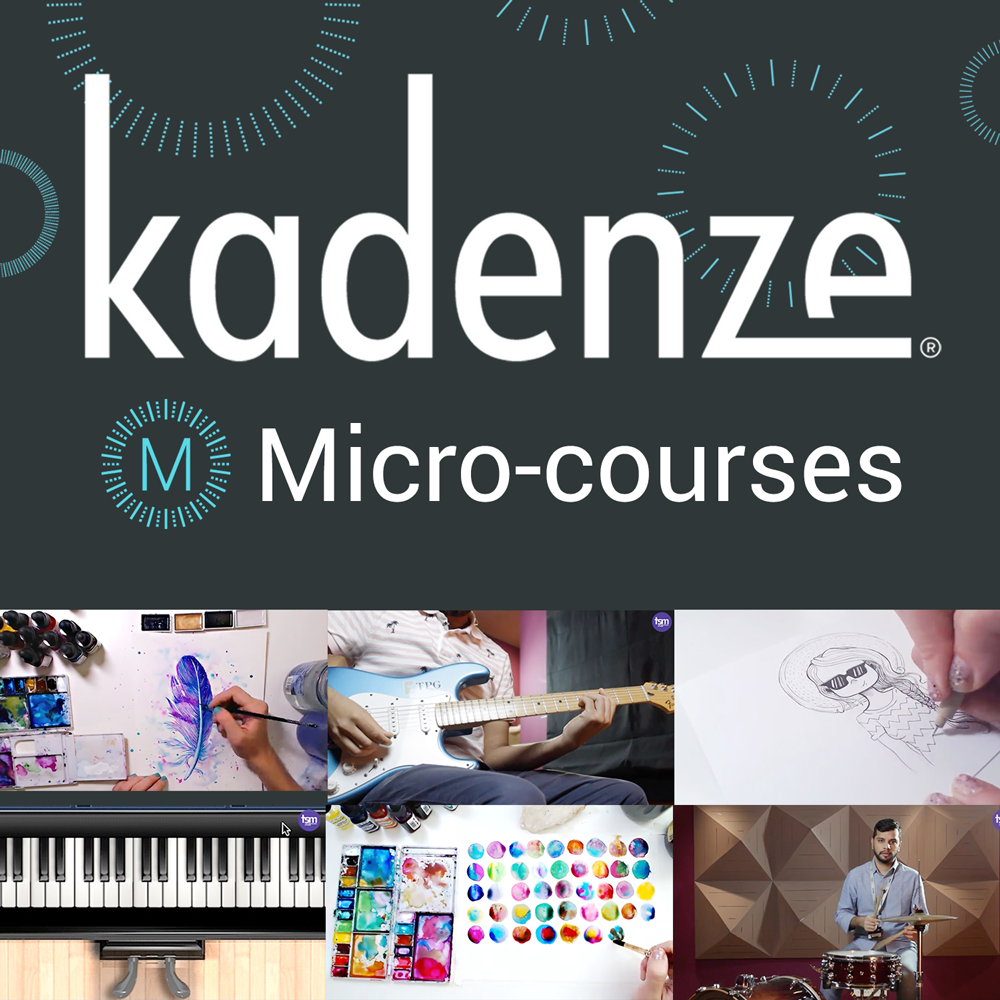 kadenze-micro-courses