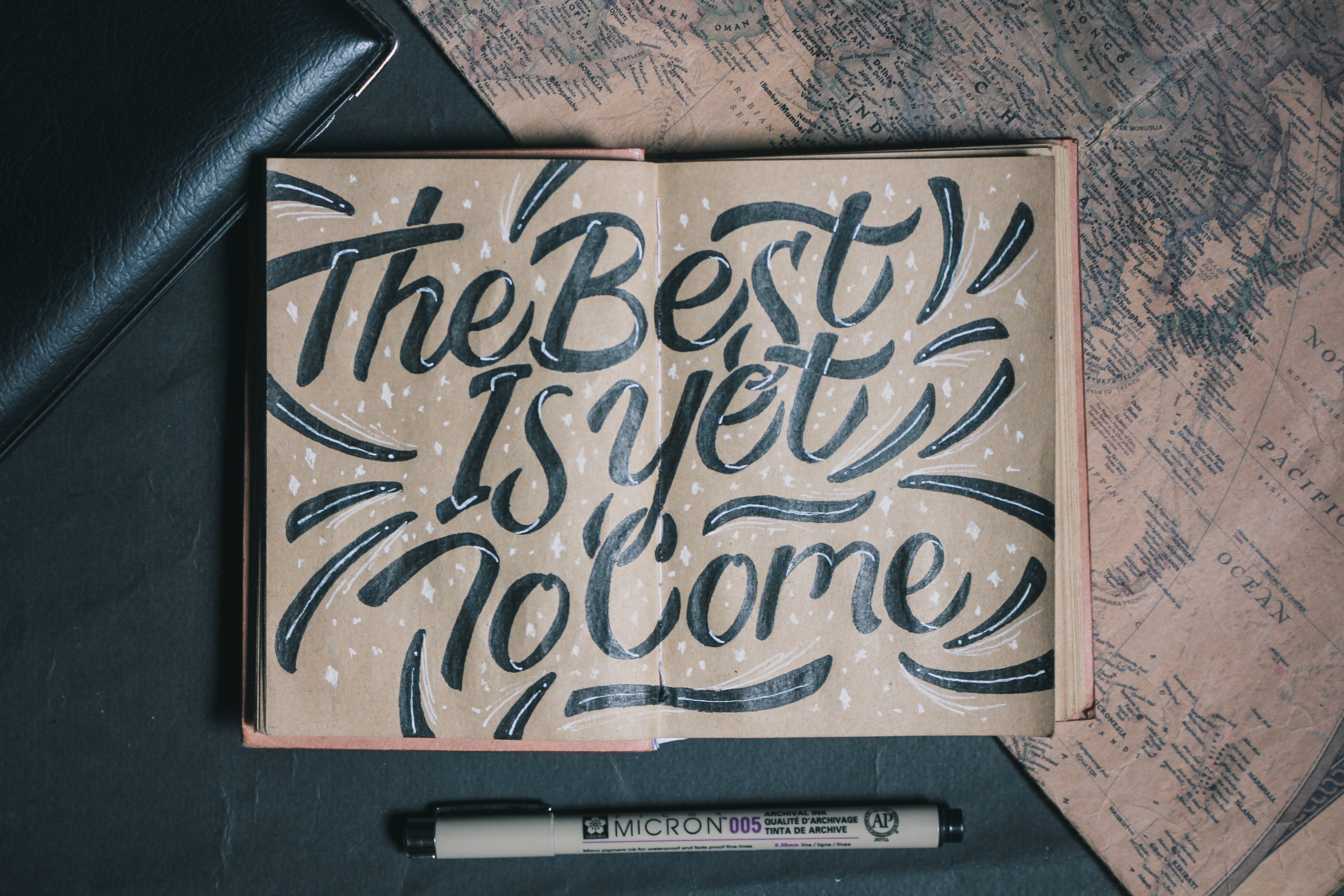 7 Techniques For Artists New To Hand Lettering Kadenze Blog