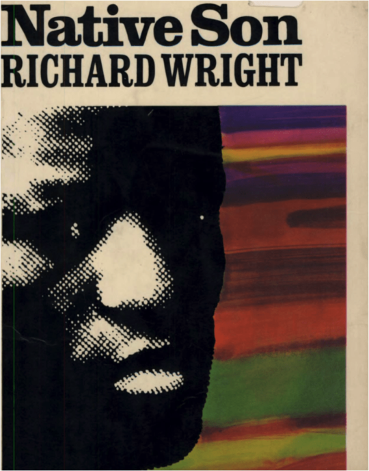 Native Son by Richard wright book cover.